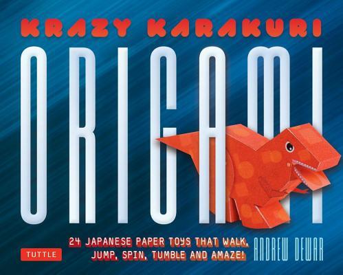Krazy Karakuri Origami Kit By Dewar, Andrew